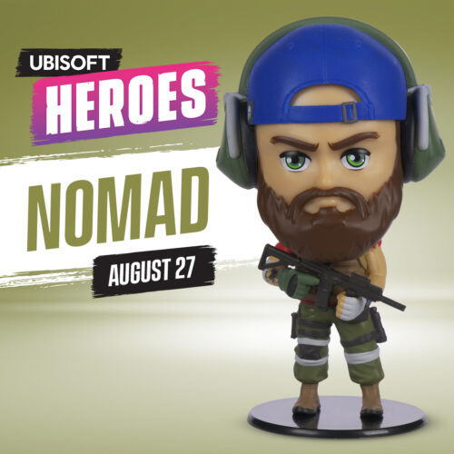Ubi Collectibles: Heroes Collection – Tom Clancy's Ghost Recon Nomad Chibi Figure, 10cm