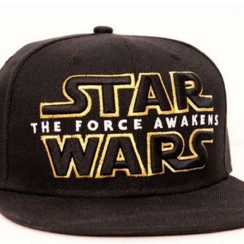 Star Wars VII – THE FORCE AWAKENS LOGO Cap, Black