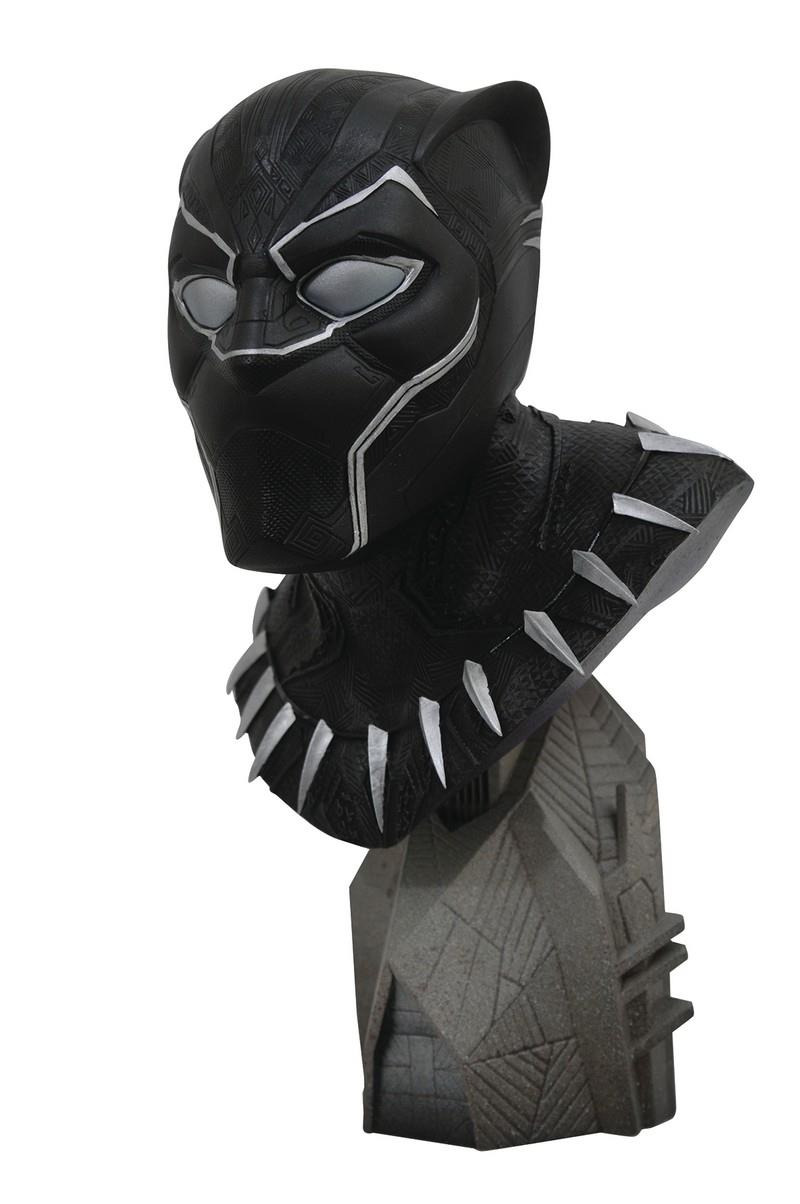 Legends In 3D: Marvel – Avengers 3 Black Panther 1/2 Scale Bust