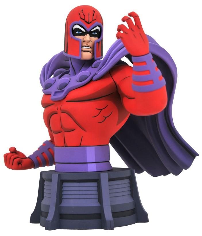 Legends in 3D: Marvel – Animated Magneto Poly Resin Bust