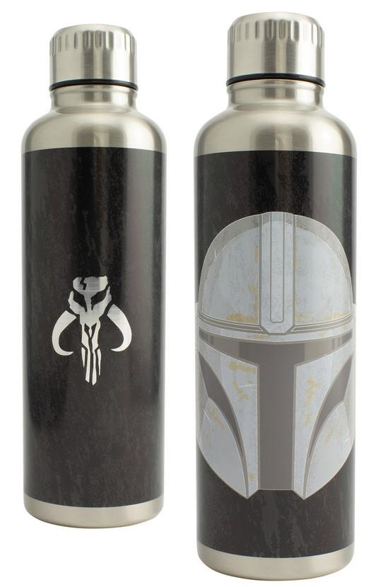 The Mandalorian – Metal Water Bottle