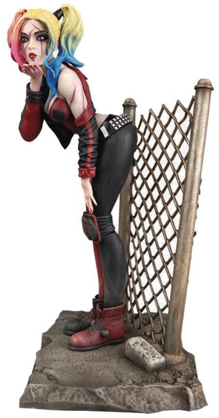 Gallery Diorama: DC Comics – Dceased Harley Quinn Statue, 20cm