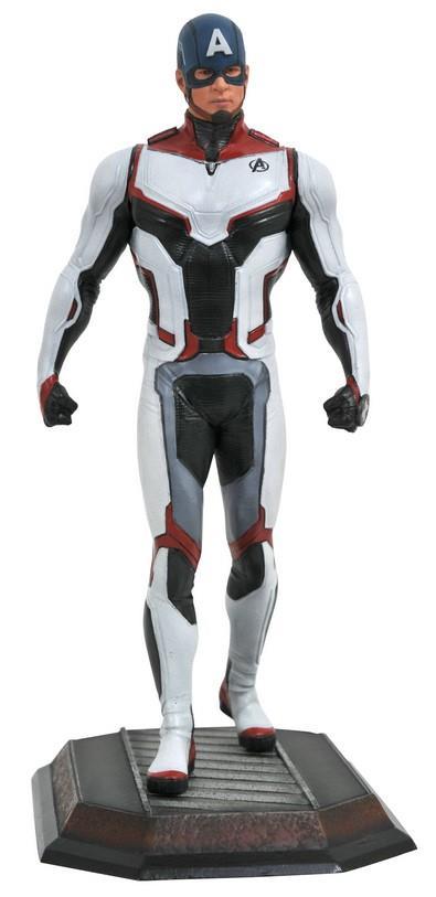 Gallery Diorama: Marvel – Captain America Avengers Team Suit Statue, 23cm