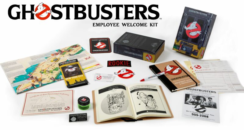 Ghostbusters – Employee Welcome Kit
