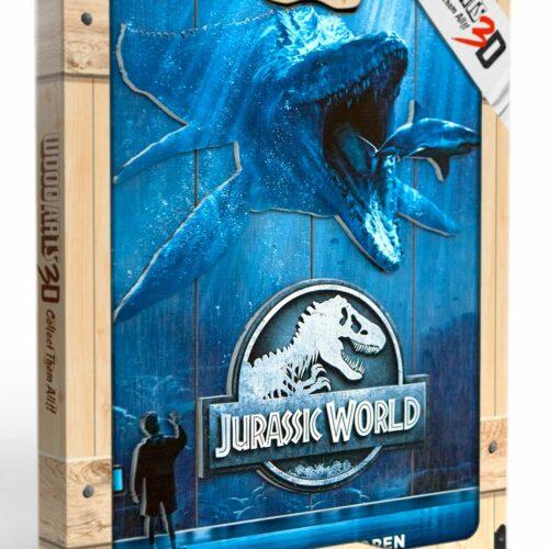 Jurassic World – Mossa Wooden Poster