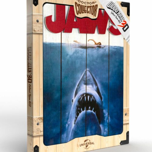 Jaws – Wooden Poster