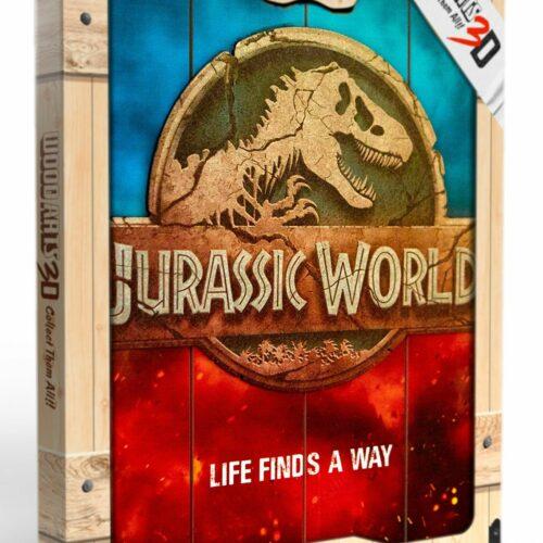 Jurassic World – Logo Wooden Poster