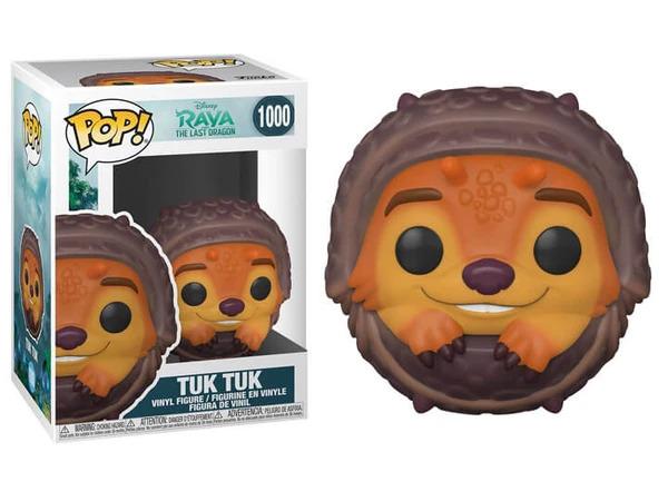 POP! Disney: Raya and the Last Dragon – Tuk Tuk (Rolled Up) Vinyl Figure