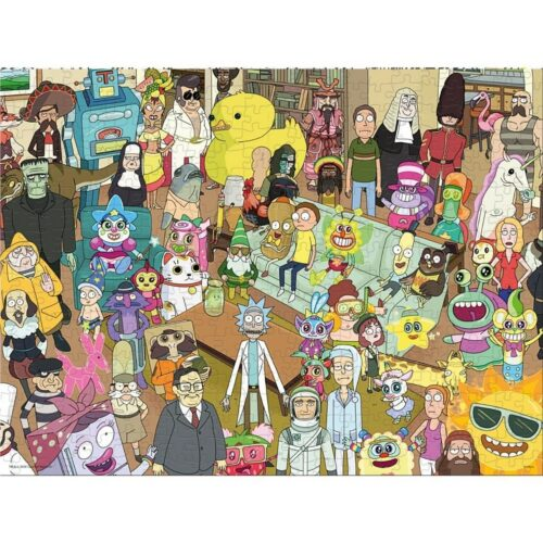 Rick and Morty – Puzzle, 1000 Pieces