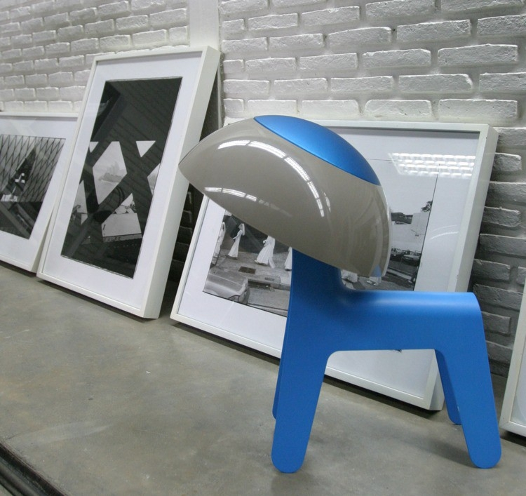 Table – floor lamp – Fog Lamp (Blue)