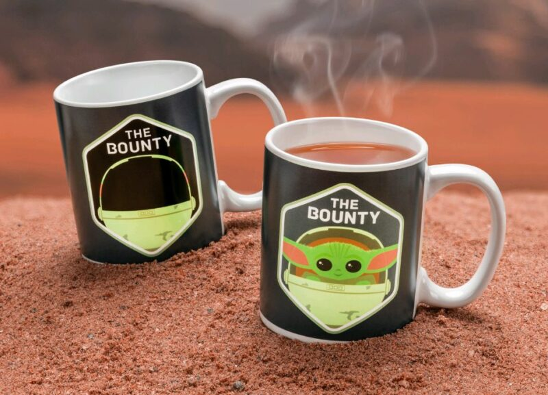 Star Wars: The Mandalorian – The Bounty Heat Change Mug, 300ml