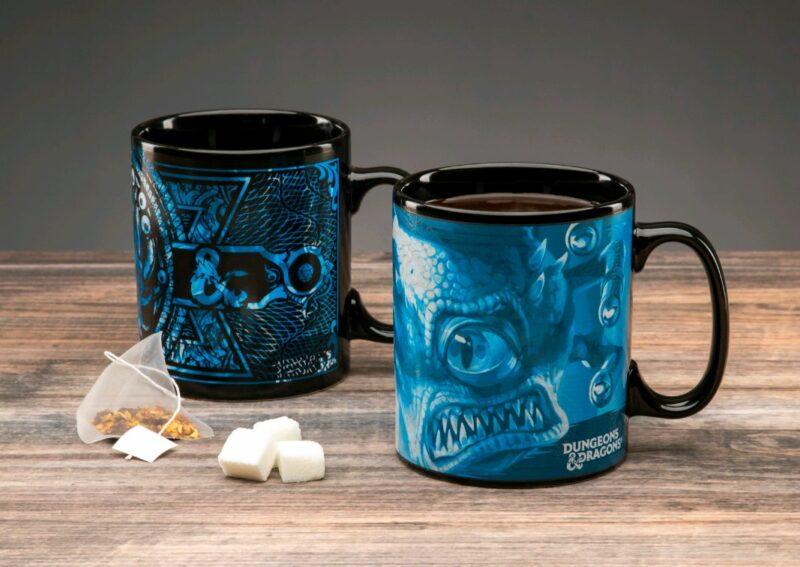 Dungeons and Dragons – Heat Change Mug XL