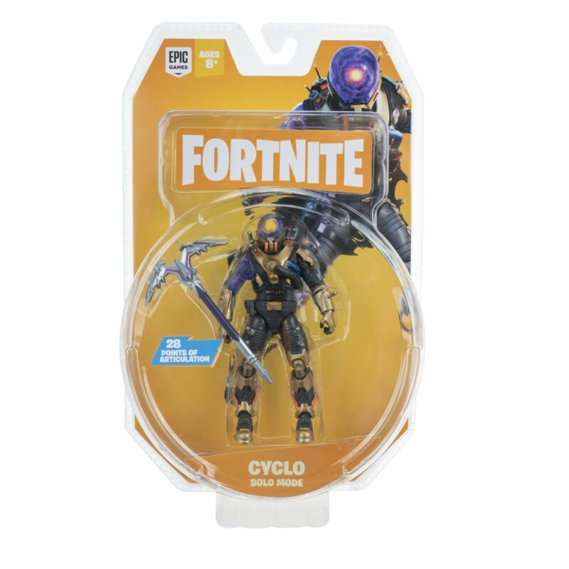 Fortnite: Solo Mode –  Blue Squire Action Figure Pack, 10cm