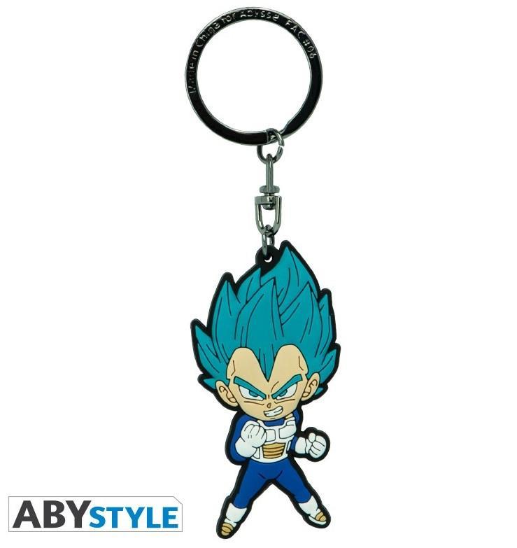 Dragon Ball Super – Vegeta Saiyan Blue PVC Keychain