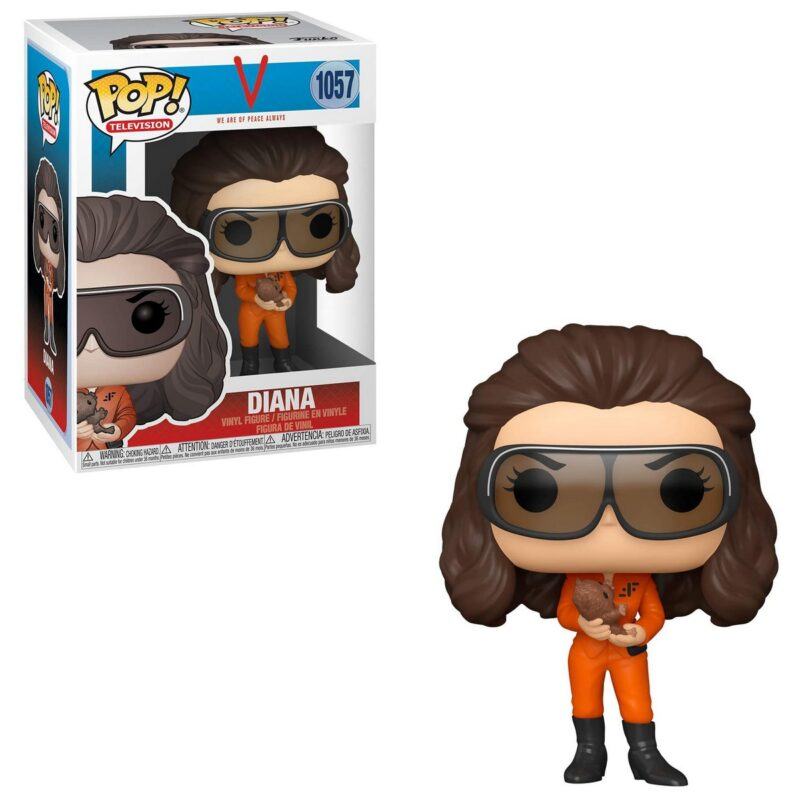 POP! Television: V We Are of Peace Always – Diana (With Glasses) Vinyl Figure