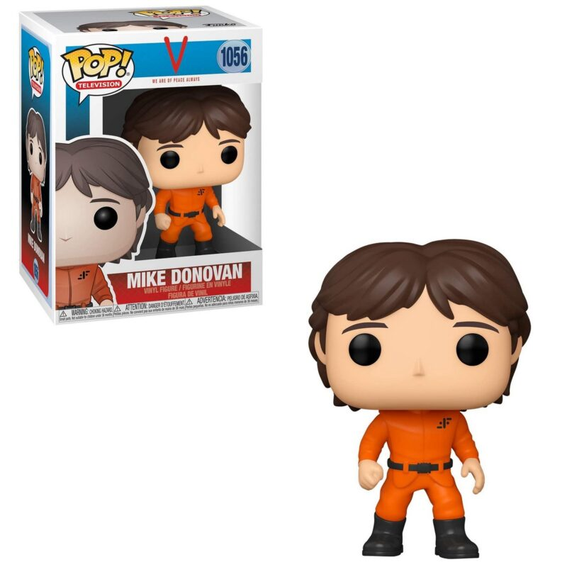POP! Television: V We Are of Peace Always – Mike Donovan Vinyl Figure
