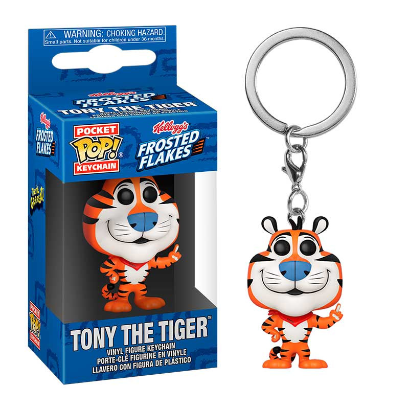 POP! Pocket Keychain: Icons – Kelloggs Frosted Flakes – Tony the Tiger