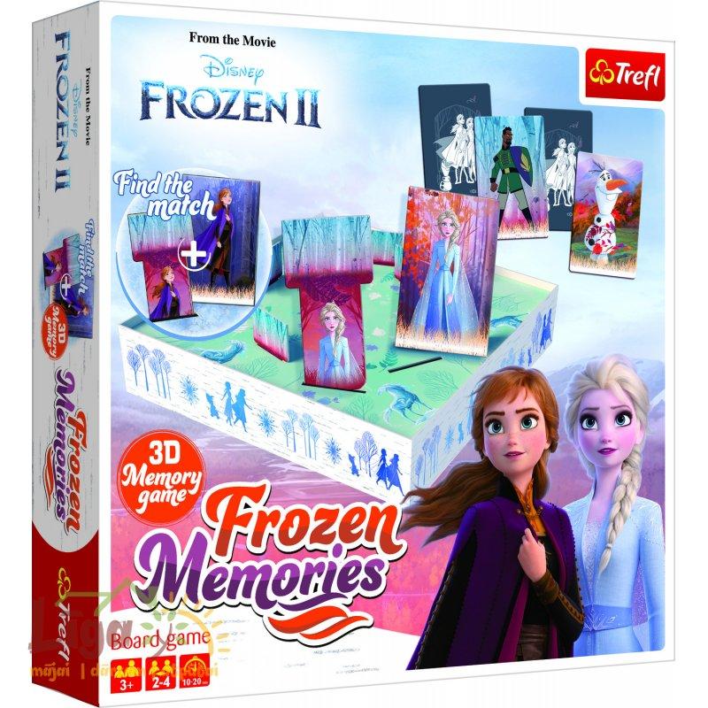 "TREFL ""Ledus Sirds 2"" Galda spēle ""Frozen Memories"" BALT/FIN"