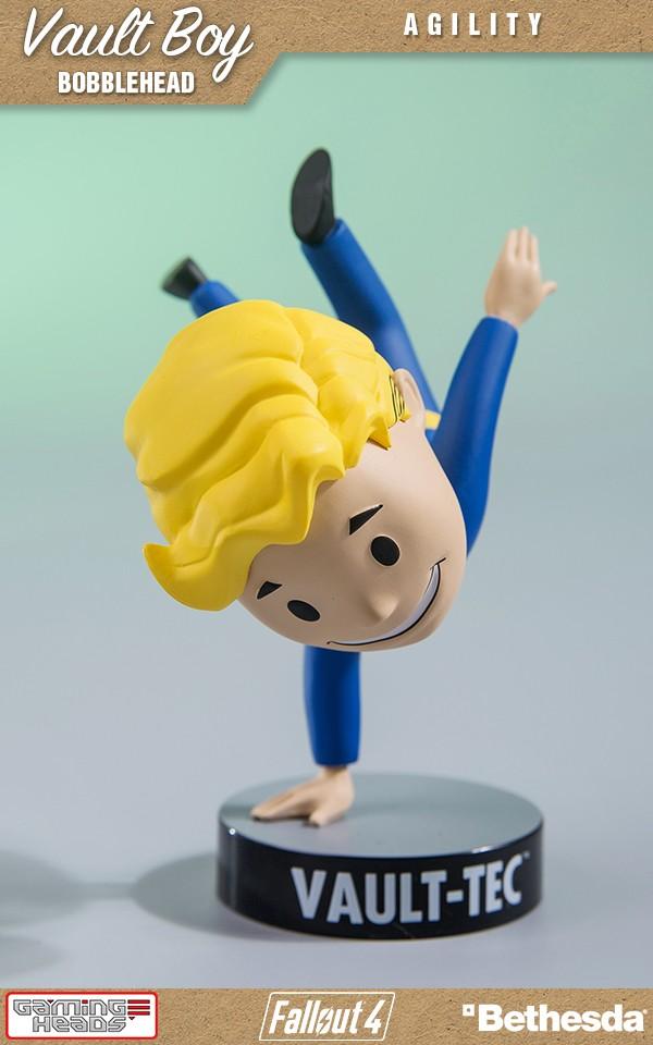 Fallout 76: Vault Boy Bobblehead – Agility Vinyl Figure, 10cm