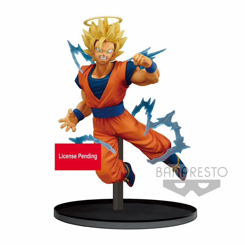 Banpresto DragonBall Z Dokkan Battle Collab – Super Saiyan 2 Son Goku (Angel) Statue (15cm)