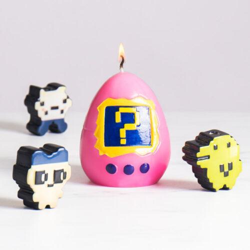 Hatching Virtual Pet Candle (Random)