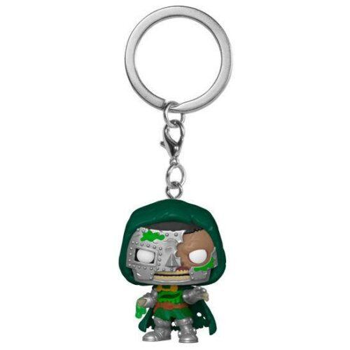 POP! Pocket Keychain: Marvel Zombies- Dr. Doom