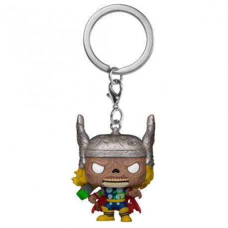 POP! Pocket Keychain: Marvel Zombies- Thor
