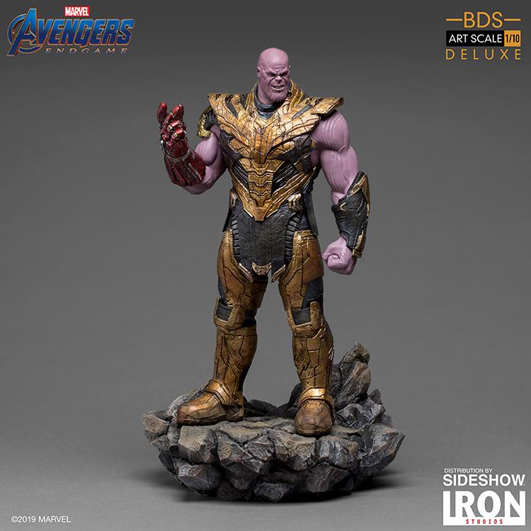 Iron Studios Avengers: Endgame – Black Order Thanos Deluxe BDS Art Scale 1/10 Statue