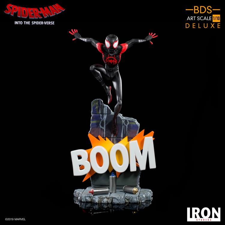 Iron Studios Spider-Man: Into The Spider-Verse – Miles Morales BDS Art Scale 1/10 Statue