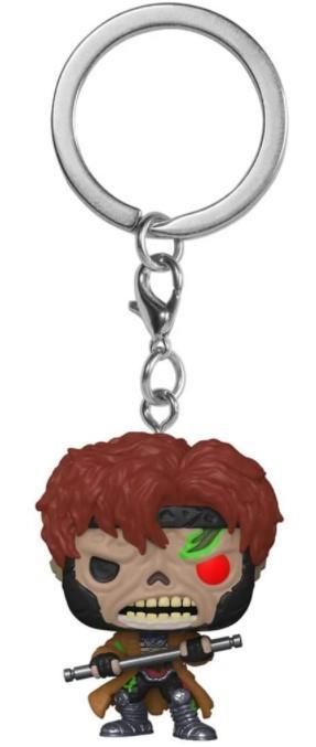 POP! Pocket Keychain: Marvel  Zombies – Zombie Gambit