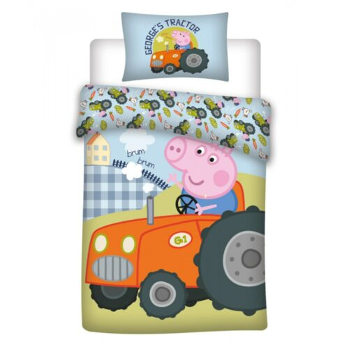 Bed Linen – Junior Size 100 x 140 cm – George Pig