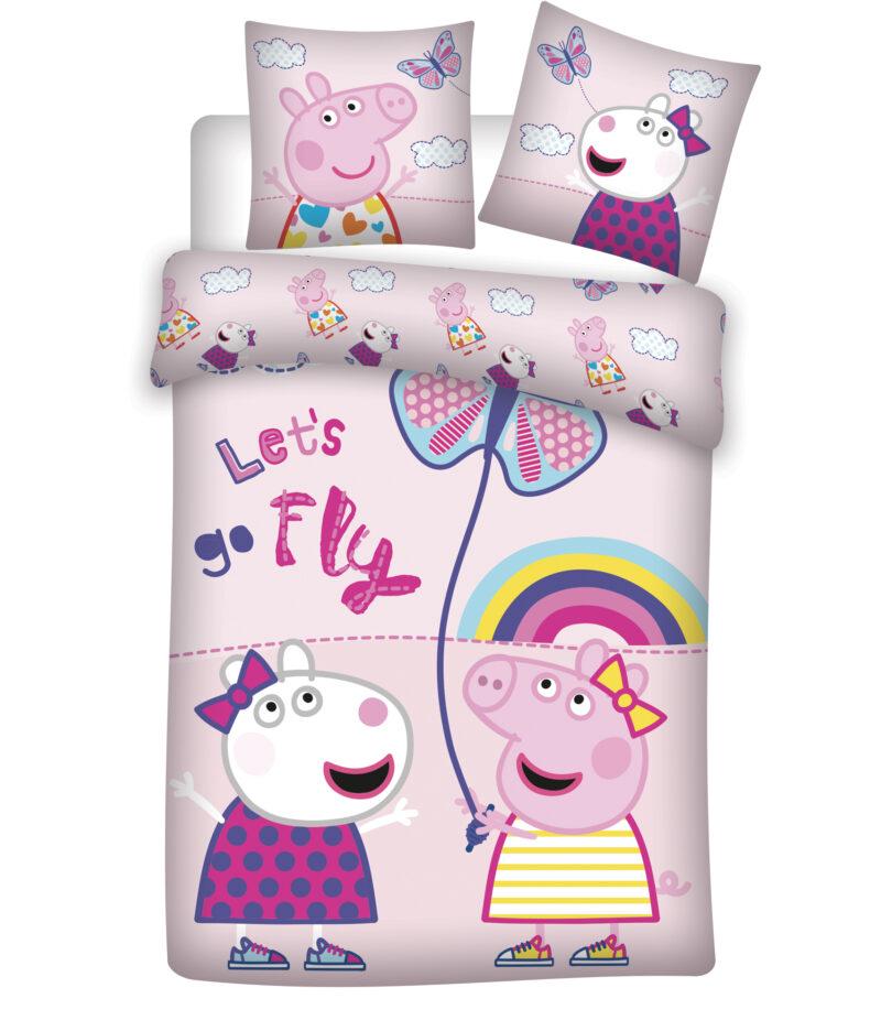 Bed Linen – Junior Size 100 x 140 cm – Peppa Pig