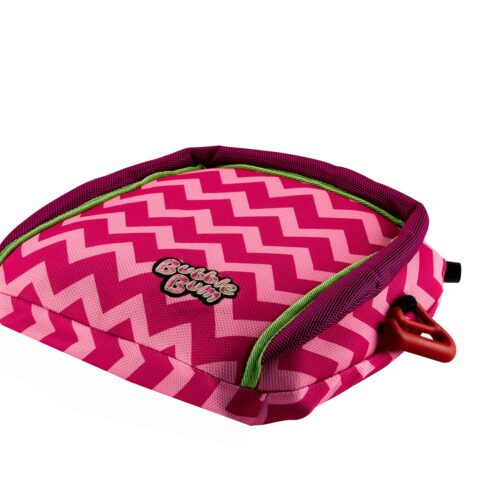 BubbleBum – Inflatable Child's Safety Booster Seat – Raspberry