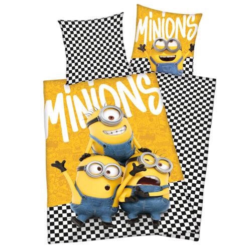 Bed Linen – Adult Size 140 x 200 cm – Minions