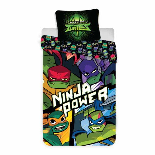 Bed Linen – Adult Size 140 x 200 cm – Ninja Turtles