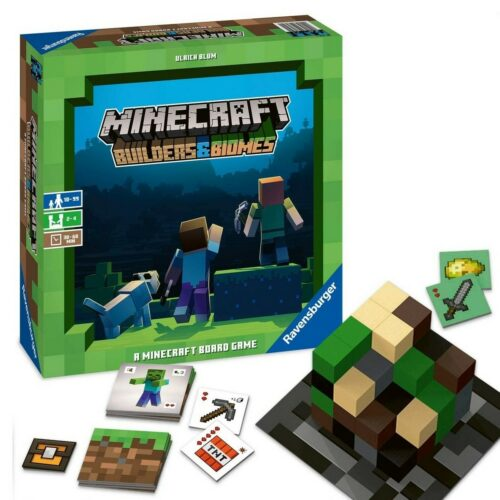 Minecraft: Builders and Biomes – Board Game (Nordic)