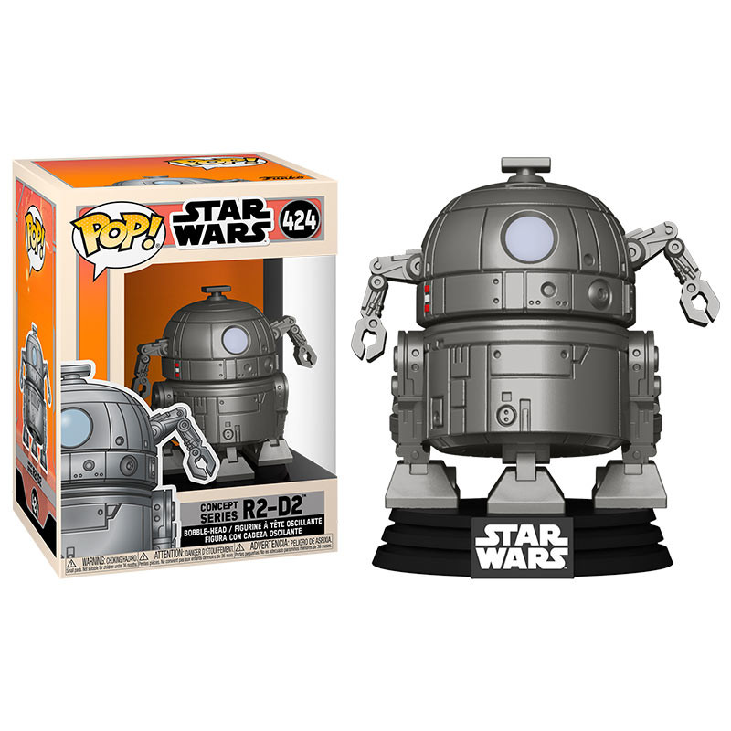 POP! Star Wars: Concept Series – R2-D2 Vinyl Bobble-Head
