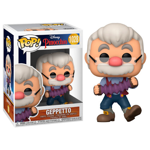 POP! Disney: Pinocchio – Geppetto with Accordion Vinyl Figure