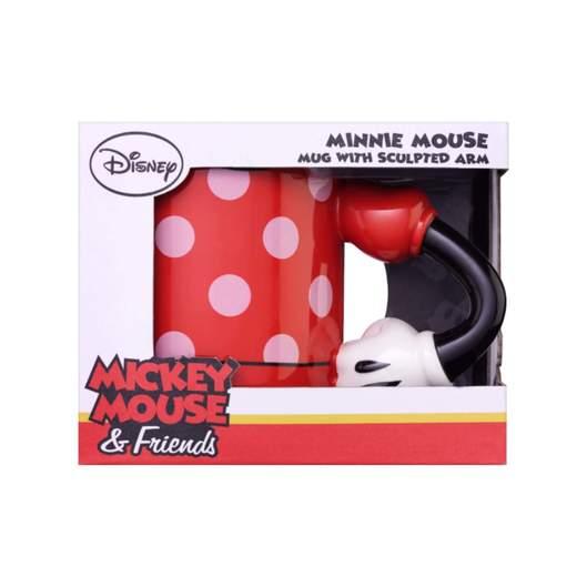 Disney – Minnie Mouse Mug with 3D Arm, 350ml