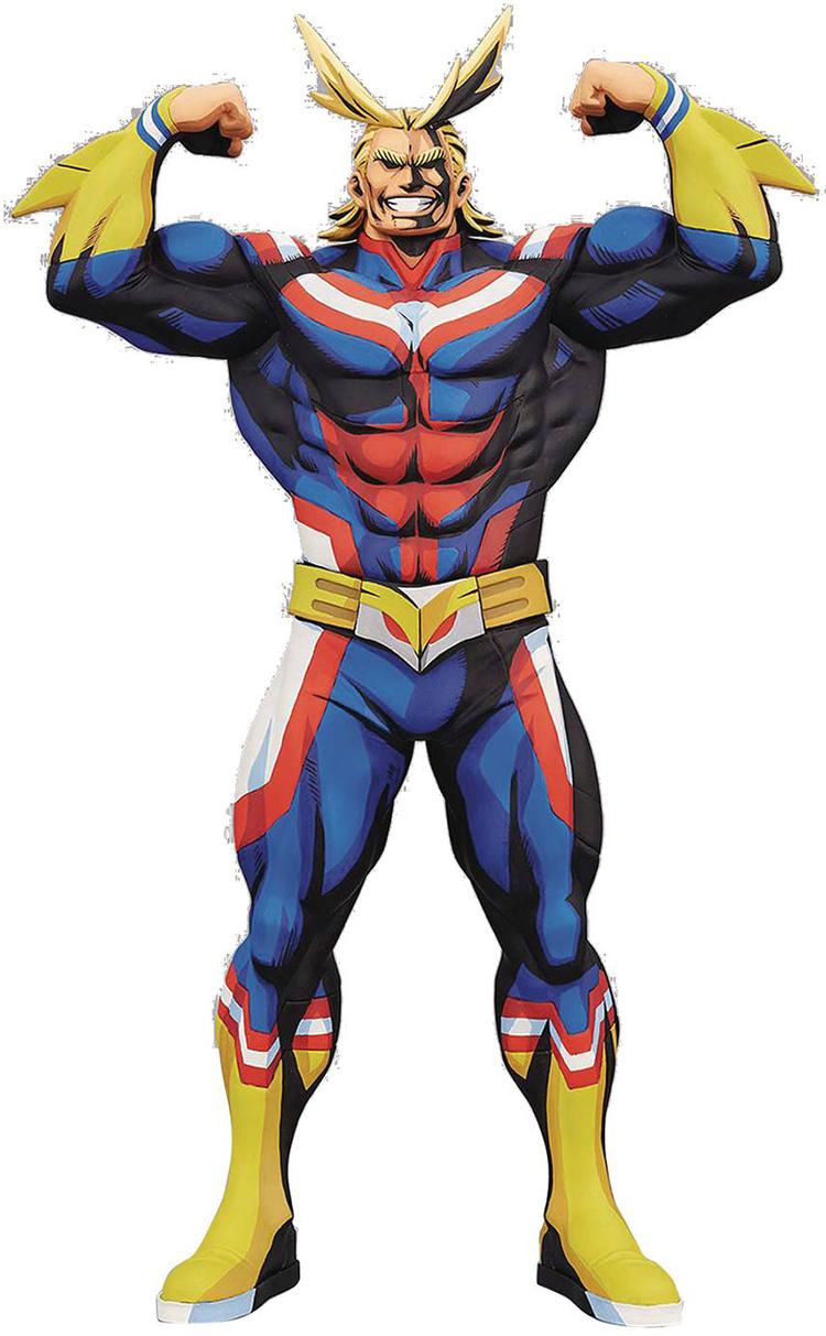 Banpresto My Hero Academia: Grandista Manga Dimensions – All Might (28cm) Statue