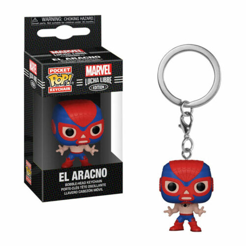 POP! Pocket Keychain: Marvel Lucha Libre Edition – El Aracno