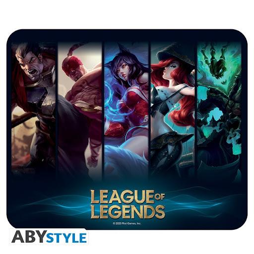 Mouse Pad League of Legends – Champions, Flexible 235x195mm