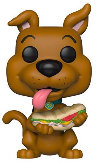 POP! Animation: Scooby Doo – Scooby Doo (with Sandwich)  Vinyl Figure