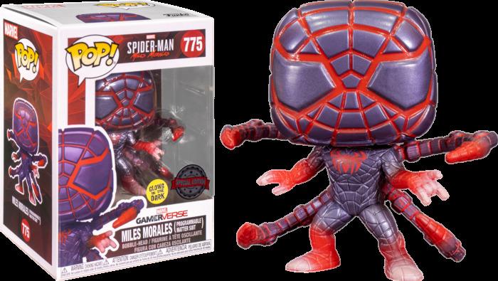 POP! Games: Marvel Spider-Man: Miles Morales – Miles Morales (Programmable Matter Suit) Bobble-Head