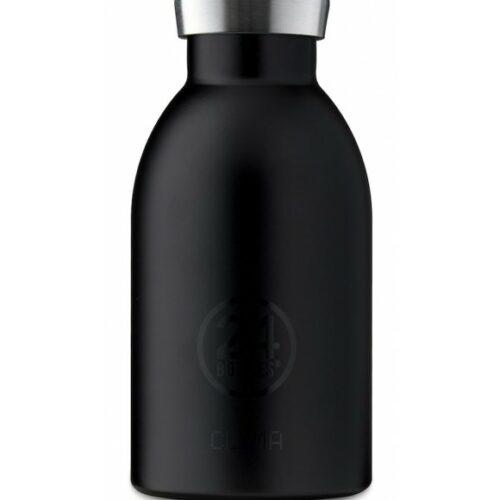 24 Bottles – Clima Bottle 0,33 L – Tuxedo Black