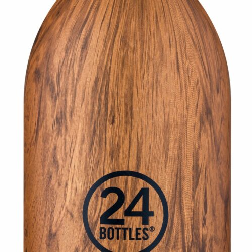 24 Bottles – Clima Bottle 0,33 L – Sequoia Wood Print