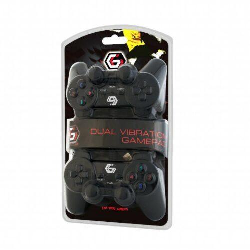Gembird Double USB dual vibration gamepad