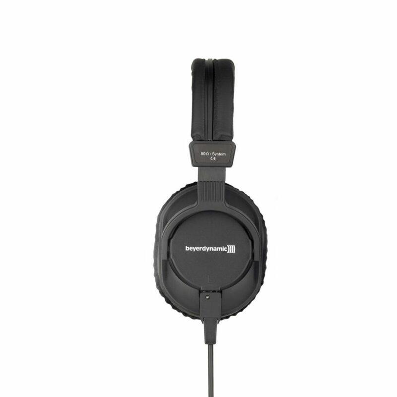 Beyerdynamic Studio headphones DT 250 Headband/On-Ear, 3.5 mm and adapter 6.35 mm, Black,
