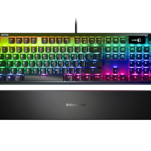 SteelSeries APEX 7, Gaming keyboard, RGB LED light, Nordic, Wired,