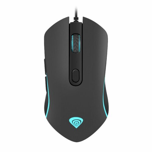 Genesis Krypton 150 NMG-1410 Optical Mouse, Wired, No, Gaming Mouse, Black